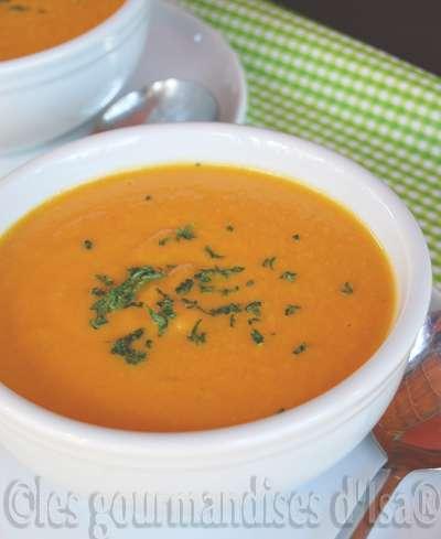 soupe velouté légume